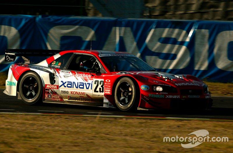 Satoshi Motoyama, Michael Krumm, Nissan Skyline GT-R R34