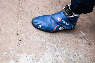Sébastien Ogier, M-Sport Ford schoenen