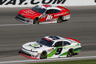 Tyler Reddick, JR Motorsports, Chevrolet Camaro BurgerFi and Ryan Reed, Roush Fenway Racing, Ford Mustang Drive Down A1C Lilly Diabetes