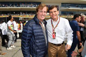 Danny Sullivan en Tavo Helmund op de grid