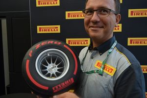 Massimo Donatellis responsable del modelado de Pirelli Motosport.
