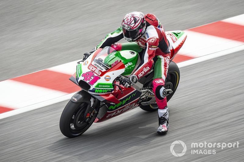 2018: Aleix Espargaró (Aprilia RS-GP)