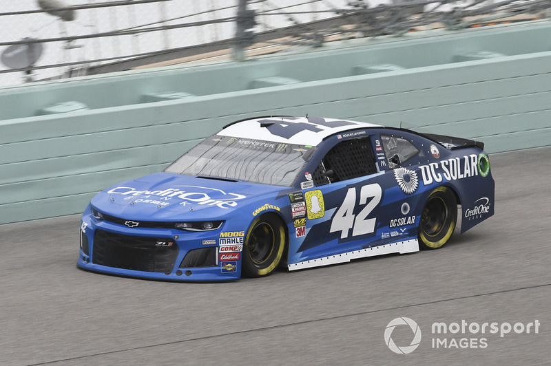 11. Kyle Larson, Chip Ganassi Racing, Chevrolet Camaro Credit One Bank/DC Solar