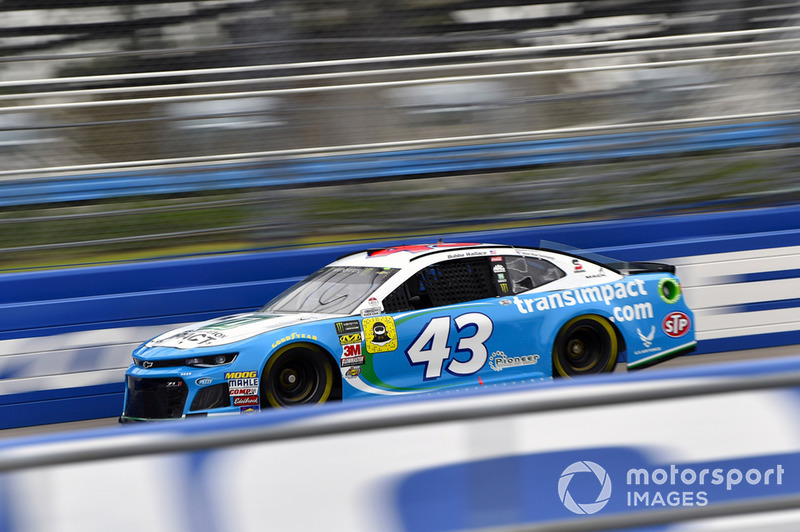 23. Darrell Wallace Jr., Richard Petty Motorsports, Chevrolet Camaro Transportation Im