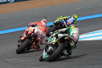 Valentino Rossi, Yamaha Factory Racing, Andrea Dovizioso, Ducati Team, Marc Marquez, Repsol Honda Team, Crutchlow MotoGP