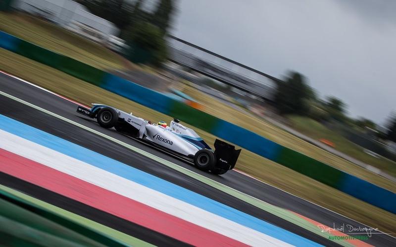 Tristan Gommendy au volant d'une Williams F1