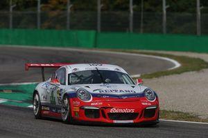 #169 Porsche 991-GT3, Ebimotors: Linos-La Mazza