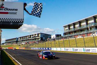 Race winners #1 Audi R8 LMS GT3: Geoff Emery, Garth Tander