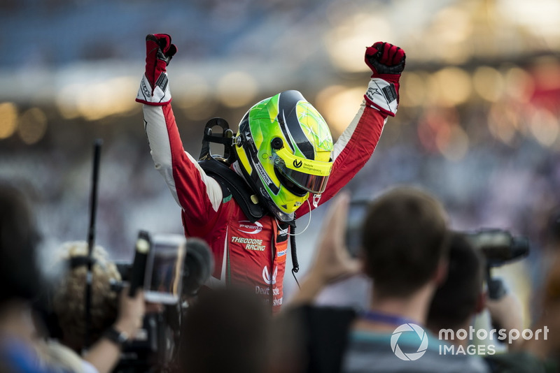 Campeón 2018, Mick Schumacher, PREMA Theodore Racing Dallara F317 - Mercedes-Benz