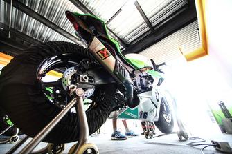 La moto de Jules Cluzel, NRT