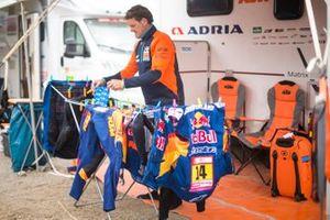 Membro del team KTM
