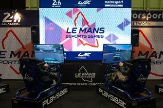 Simulators at the Le Mans eSports series