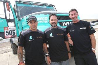 #505 Team De Rooy Iveco: Federico Villagra, Ricardo Torlaschi, Adrian Yacopini