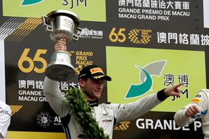Podium: #888 Mercedes-AMG Team GruppeM Racing Mercedes - AMG GT3: Maro Engel