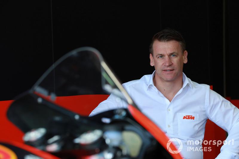 Піт Байрер, керівник заводського гоночного підрозділу KTM
