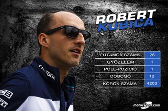 Robert Kubica - statisztikák