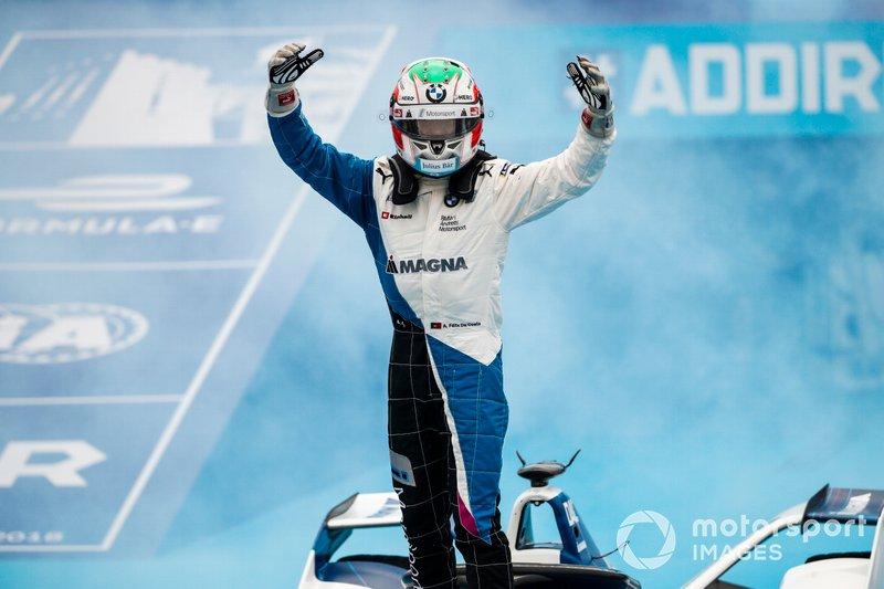 Победитель Антониу Феликс да Кошта, BMW i Andretti Motorsport