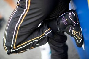 The boots of Jean-Eric Vergne, DS TECHEETAH