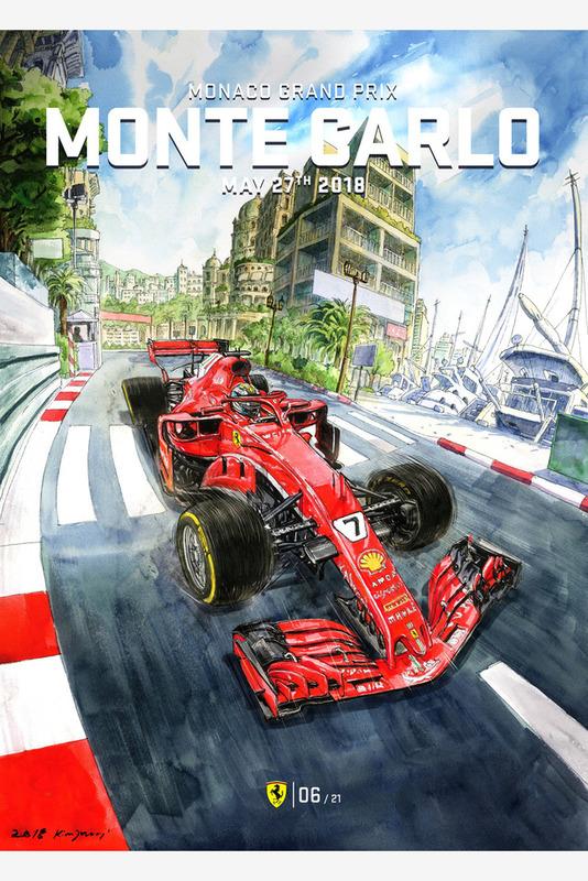 Постер Гран При Монако