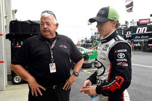 Brandon Jones, Joe Gibbs Racing, Toyota Camry Juniper, Randy Fuller.