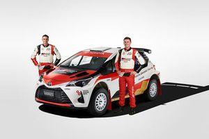 Harry Bates, John McCarthy, Toyota Yaris AP4
