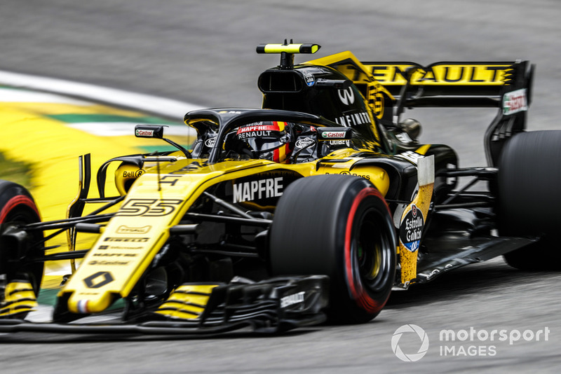 Карлос Сайнс, Renault Sport F1 Team RS18