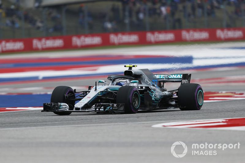 3. Valtteri Bottas, Mercedes AMG F1 W09 EQ Power+