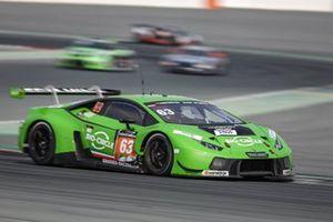 #63 GRT Grasser Racing Team Lamborghini Huracán GT3: Mirko Bortolotti, Christian Engelhart, Rolf Ineichen, Mark Ineichen