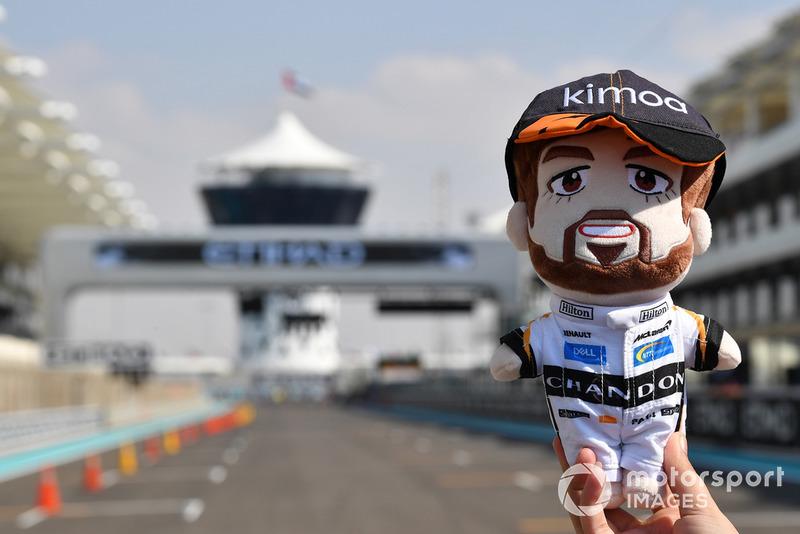 Peluche de Fernando Alonso, McLaren