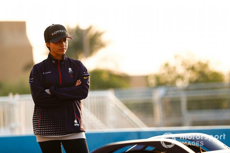 Amna Al Qubaisi, Envision Virgin Racing, Audi e-tron FE05