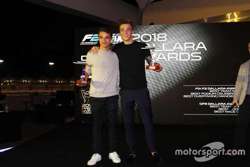 Lando Norris, Carlin And Artem Markelov, RUSSIAN TIME