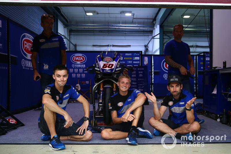 Miembro del equipo Pata Yamaha