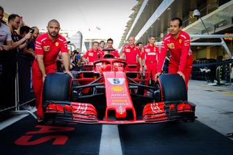 L'équipe Ferrari