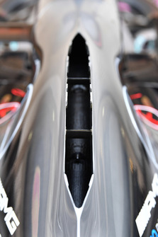 Mercedes-AMG F1 W09 engine cover detail