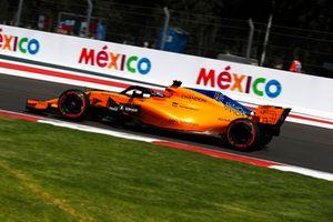 Fernando Alonso, McLaren MCL33 avec de la peinture Flo-Vis
