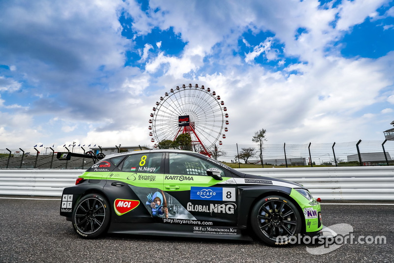 Norbert Nagy, Zengo Motorsport Cupra TCR