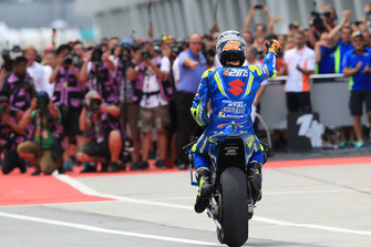 Second place Alex Rins, Team Suzuki MotoGP