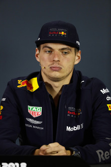 Max Verstappen, Red Bull Racing, in the Thursday press conference.
