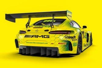 #999 GruppeM Mercedes AMG GT3: Maximillian Buhk, Raffaele Marciello, Maximillian Gotz