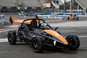 Terry Grant driving the Ariel Atom Cup