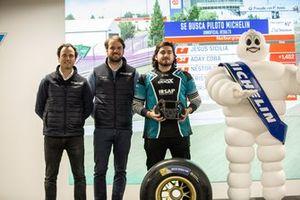 Jesús Sicilia, Piloto Michelin