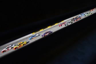 Brad Keselowski, Team Penske, Ford Fusion Wurth, Joey Logano, Team Penske, Ford Fusion Shell Pennzoil and Ryan Blaney, Team Penske, Ford Fusion PPG