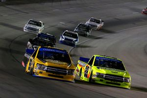 Matt Crafton, ThorSport Racing, Ford F-150 Ideal Door/Menards and Grant Enfinger, ThorSport Racing, Ford F-150 Protect The Harvest/Curb Records