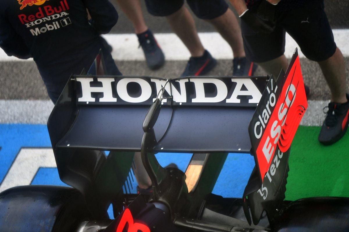 Alerón trasero del Red Bull Racing RB16B