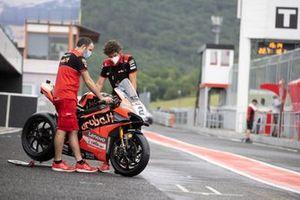 Moto de Michael Ruben Rinaldi, Aruba.It Racing Ducati