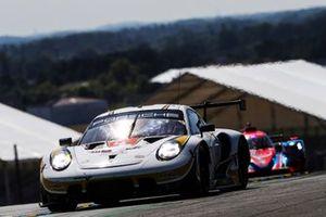 #46 Team Project 1 Porsche 911 RSR - 19 LMGTE Am di Dennis Olsen, Anders Buchardt, Robert Foley