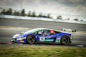 #14 Emil Frey Racing Lamborghini Huracan GT3 Evo: Alex Fontana, Rolf Ineichen, Ricardo Feller