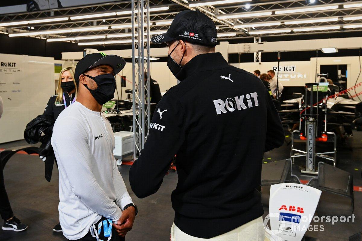 Nic Hamilton, Edoardo Mortara, Venturi Racing
