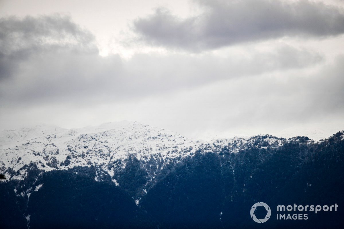 Montañas nevadas de Sochi