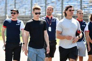 Logan Sargeant, Charouz Racing System, Reshad De Gerus, Charouz Racing System et l'ingénieur Michiel Gommers